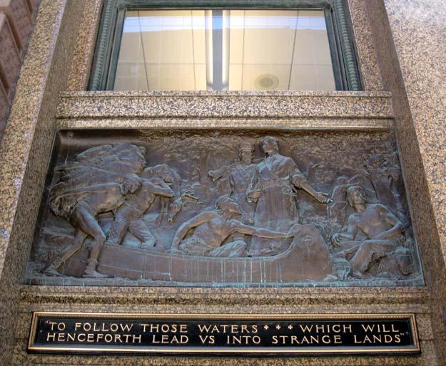 Herman MacNeil relief sculptures