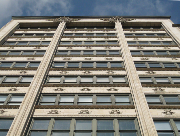 Louis Sullivan terra-cotta facade