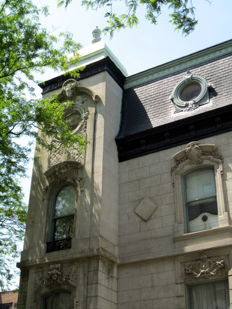 Hampden Ave. detail