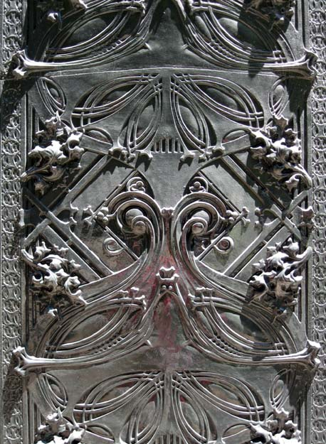 Louis Sullivan iron work detail