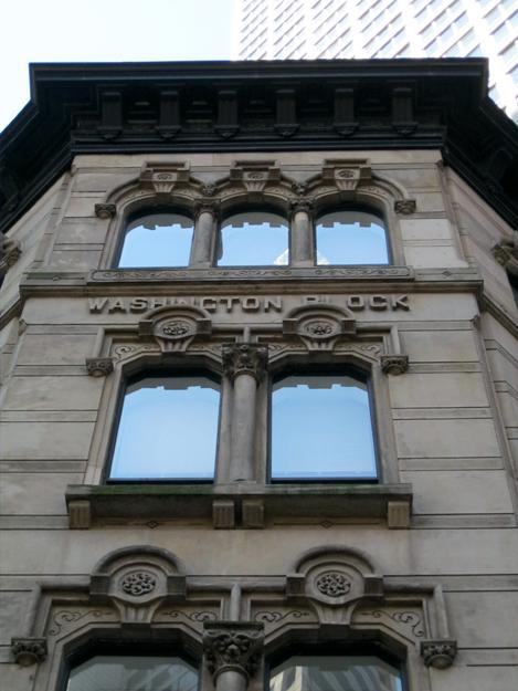 Italianate window detail