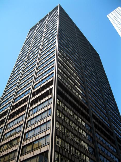 Steel facade