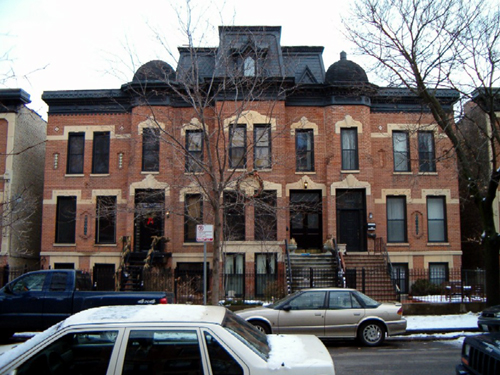 Bissell St. facades