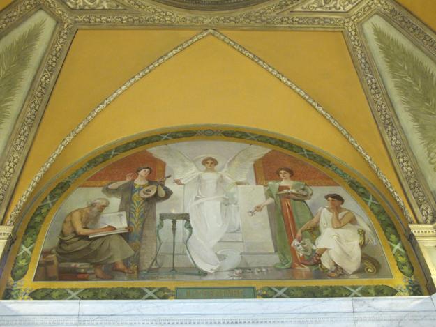 Rotunda mural