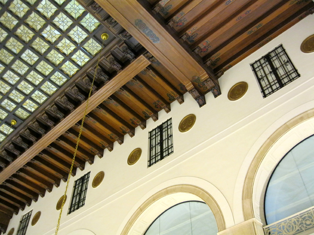 Interior ceiling detail, photo by Aimee Sunny