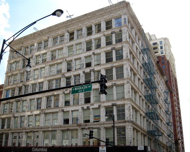 Wabash Ave. elevation