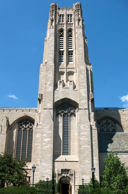 Chapel tower from 59th St.