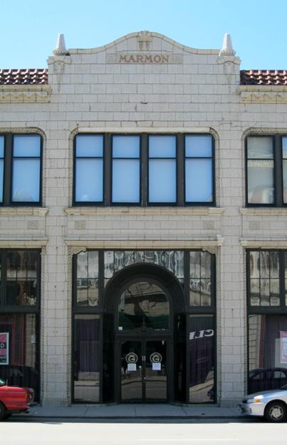 Former Marmon Motor Car Co. showroom