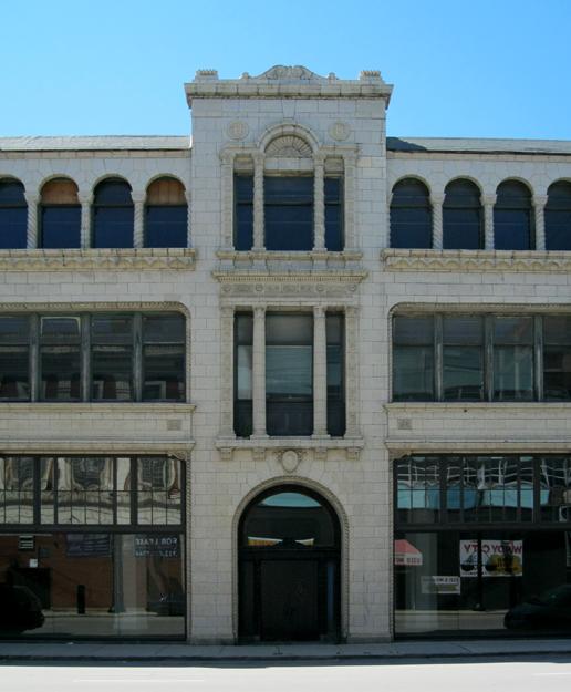 Former Hudson Motor Car Co. showroom