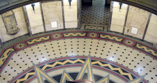 Interior of rotunda