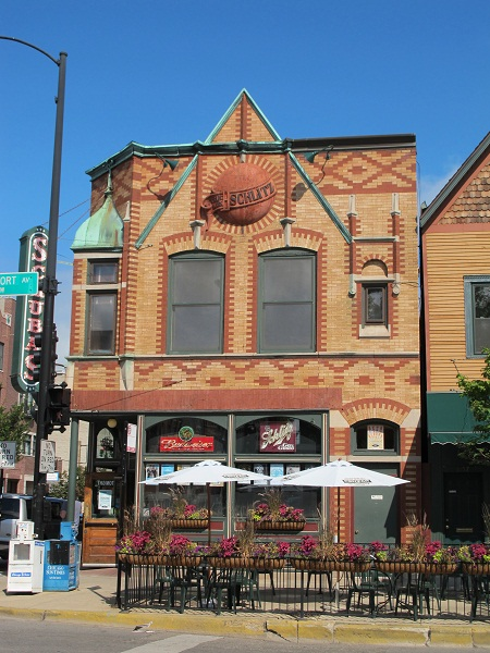 (Former) Schlitz Brewery-Tied House at 3159 N. Southport Ave.