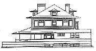 Original elevation drawing