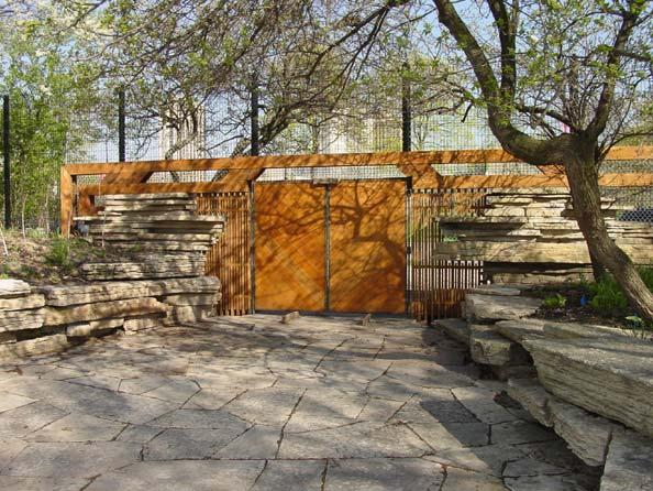 Entrance gate, photo by Nancy Hanks, 2002