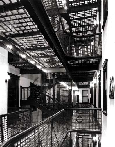 Interior Court, photo by Bob Thall