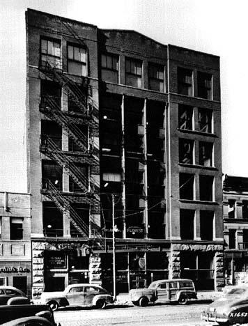 Exterior View, circa 1950, photo courtesy of Chicago Architectural Photographic Co.