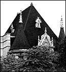 Roof Detail, photo by Barbara Crane