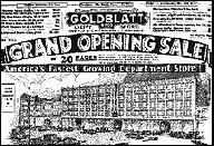 Grand Opening Advertisement, 1928