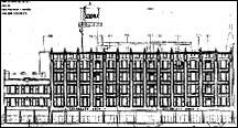 North Elevation Drawing, 1997