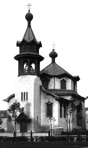 View of church in 1906