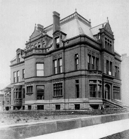 Exterior circa 1885, by J.W. Taylor