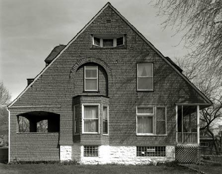 West Elevation, Photo by Bob Thall, 1996