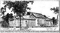 Architect's Rendering, 1908