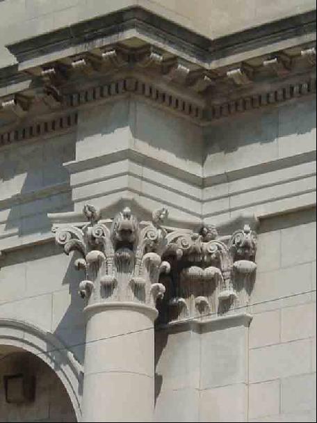 Column detail, St. Gelasius Church Building. Photo by Eleanor Gorski, CCL, 2003