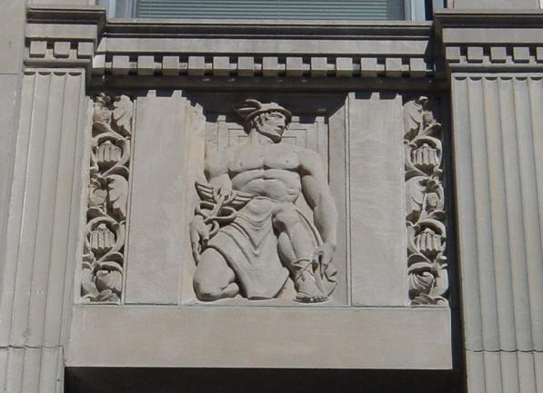 Sculptural detail. Photo by Terry Tatum, CCL, 2003