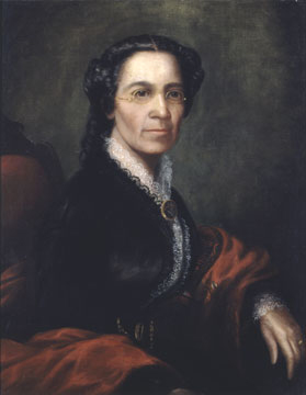 Portrait of Mary Richardson Jones by Aaron E. Darling, ca. 1865. Chicago History Museum