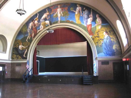 Auditorium, Photo by CCL, 2007