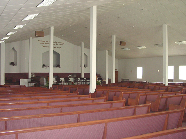 Roberts Temple interior, by Terry Tatum, CCL, 2005