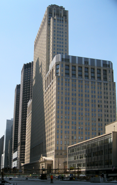 View from North Wacker Dr.