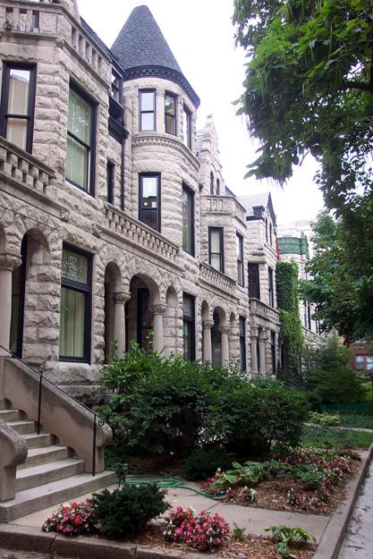 Pine Grove Ave. row houses