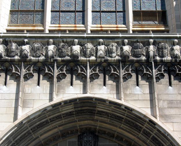 Chapel entry detail