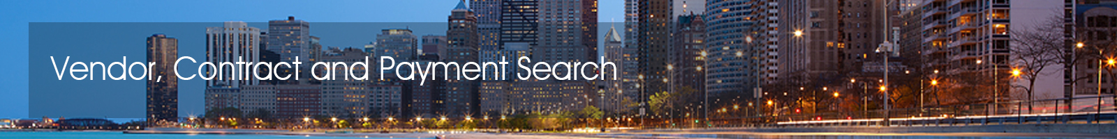 vendor contract and payment search bid tracker search